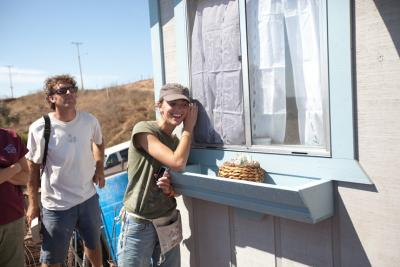 Peter Lunstrum, KLR rider, and others build a house in Mexico for a poverty stricken family
