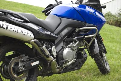 Suzuki V-Strom DL1000 frame sliders from AltRider