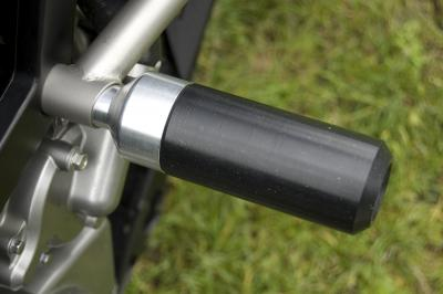 frame slider UHMW plastic material used for Ducati Multistrada 1200 and Suzuki V-Strom
