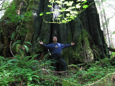 David McKay of GripTwister Tours in the Hoh Rain Forest