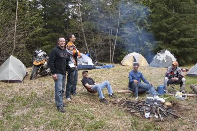Epic riding, camping in the rain forest, and camaraderie.