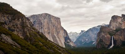 Yosemite Valley - Stuart's journey through the US
