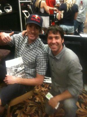Travis Pastrana of Nitro Circus and Jeremy LeBreton of AltRider