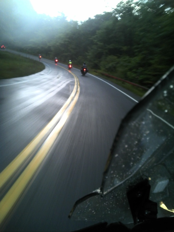 At Speed in the Rain