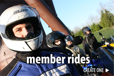 MEMBER RIDES: Create One