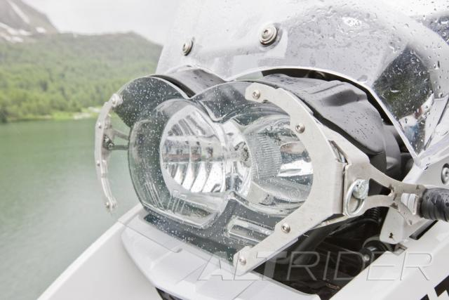 AltRider Clear Headlight Guard Kit for the BMW R 1200 GS /A (2003-2012) - Action Shot