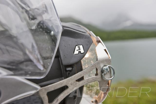 AltRider Glare Guard for the BMW R 1200 GS /A (2003-2012) - Action Shot