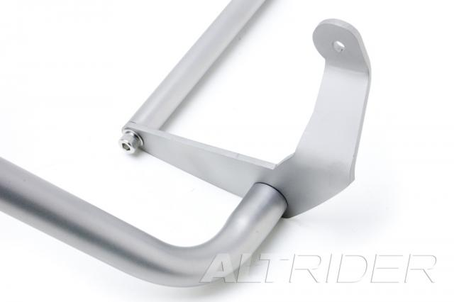 AltRider Crash Bars and Frame Slider Kit for Ducati Multistrada 1200 (2010-2014) - Silver  - Additional Photos