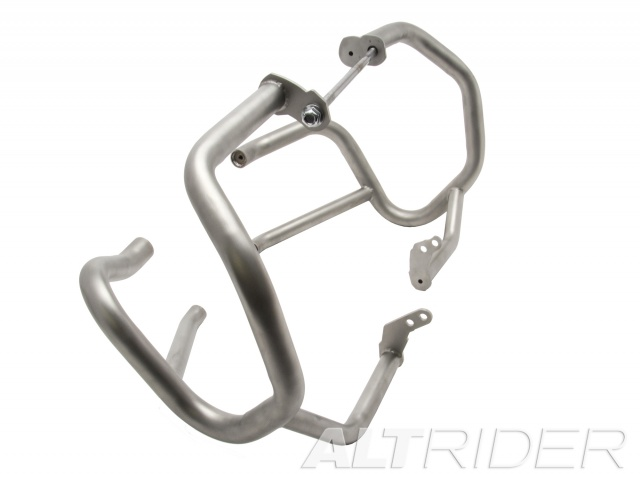 AltRider Crash Bars for the BMW R 1200 GS Water Cooled (2013) - Silver - With Mounting Bracket - Additional Photos