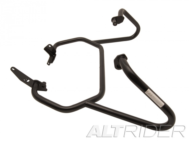 AltRider Crash Bars for the Triumph Tiger 800 - Black - Additional Photos