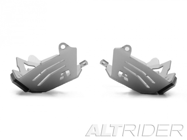 AltRider Cylinder Head Guards for the BMW R 1200 Water Cooled - Silver - Additional Photos