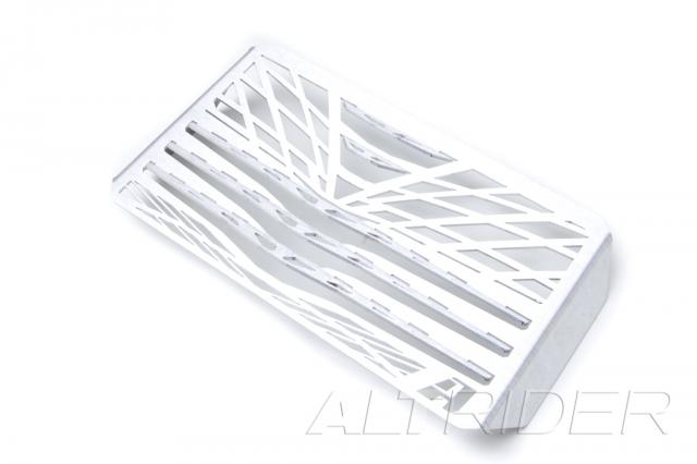 AltRider Oil Cooler Guard for Ducati Multistrada 1200 (2010-2014) - Silver - Additional Photos