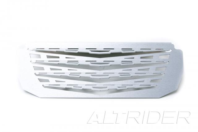 AltRider Oil Cooler Guard for the BMW R 1200 GS (2003-2012) - Silver - Additional Photos