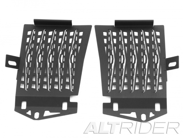 AltRider Radiator Guard for the BMW R 1200 GS Water Cooled (2013-2016) - Black - Additional Photos