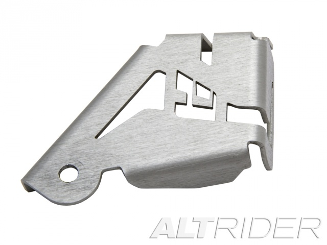 AltRider Rear Brake Reservoir Guard for the BMW R 1200 GS /GSA Water Cooled - Silver - Additional Photos