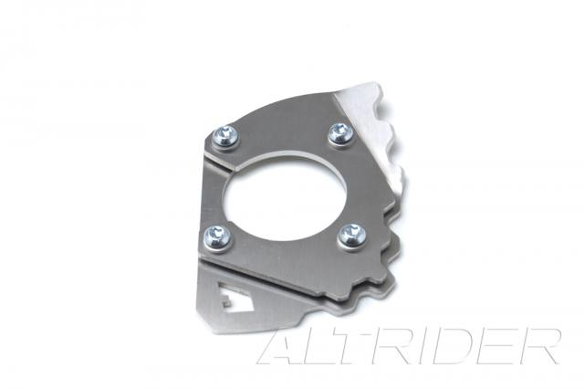 AltRider Side Stand Foot for 2010-2013 Yamaha Super Tenere XT1200Z - Silver - Additional Photos