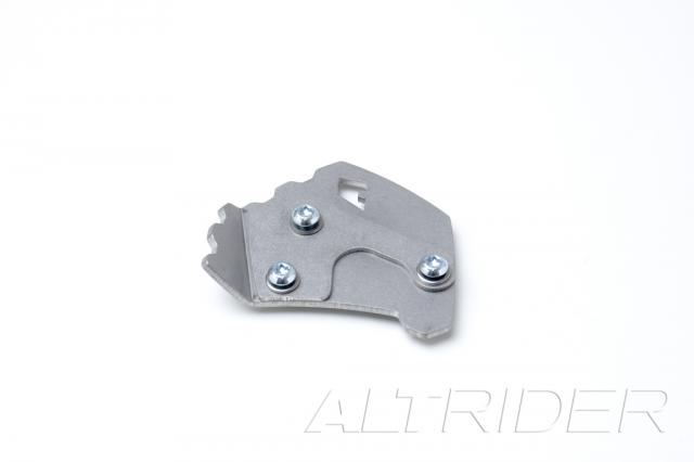 AltRider Side Stand Foot for Kawasaki Versys - Silver - Additional Photos