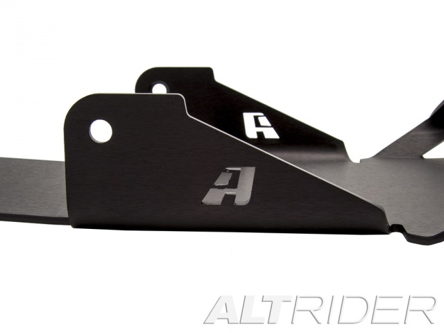 AltRider Skid Plate for the BMW R 1200 GS Water Cooled (2013-2015) - Black - With Mounting Bracket - Additional Photos