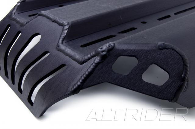 AltRider Skid Plate Kit for the BMW R 1200 R (2006-2014) - Black - Additional Photos