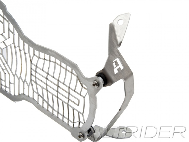 AltRider Stainless Steel Headlight Guard for the BMW R 1200 GS Water Cooled - Silver - Additional Photos