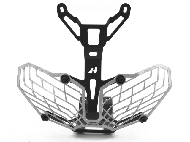 AltRider Stainless Steel Mesh Headlight Guard for the Honda CRF1000L Africa Twin/ ADV Sports - Additional Photos