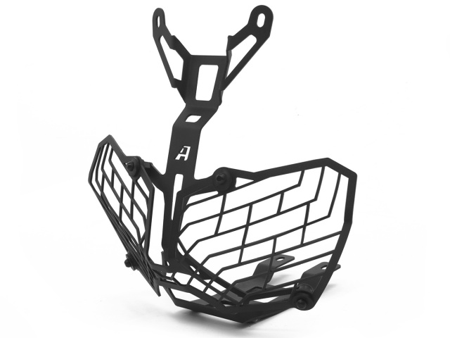 Stainless Steel Mesh Headlight Guard For The Honda Crf1000l Africa