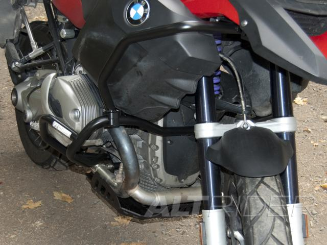 AltRider Upper Crash Bars Assembly for the BMW R 1200 GS (2008-2012) - Silver - Additional Photos
