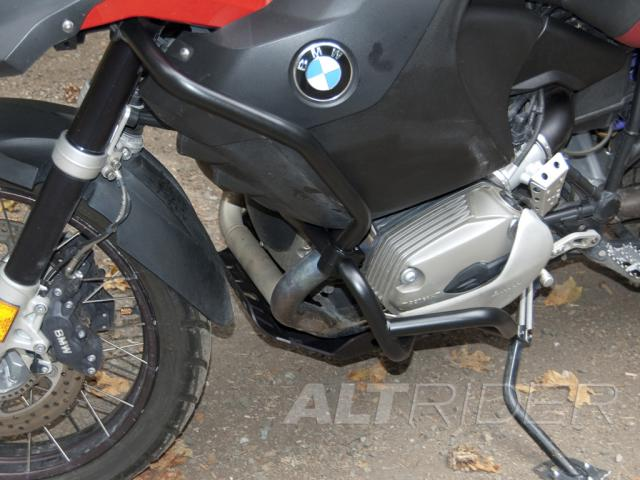 AltRider Upper Crash Bars Assembly for the BMW R 1200 GS (2008-2012) - White - Additional Photos