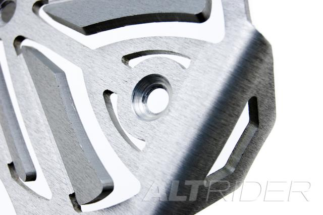 AltRider Voltage Regulator Guard for the Husqvarna TR650 Terra and Strada - Silver - Additional Photos