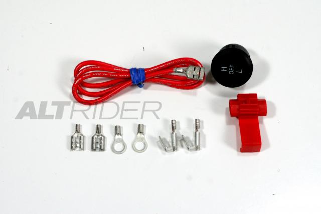Handlebar Heated Grip Kit - Additional Photos