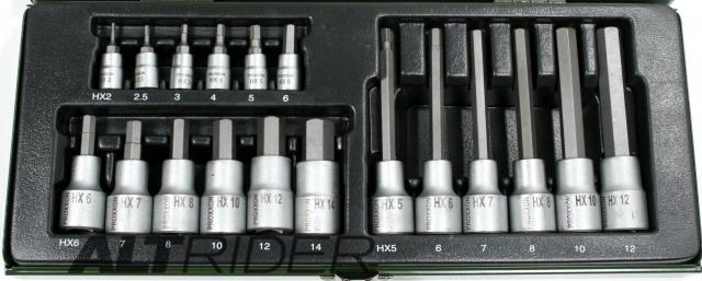 Proxxon 18-Piece Allen Key Socket Set - Additional Photos