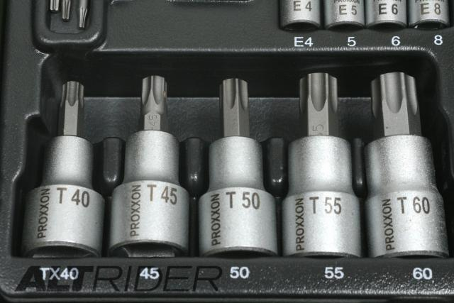 Proxxon 23-Piece TORX Socket Set - Additional Photos