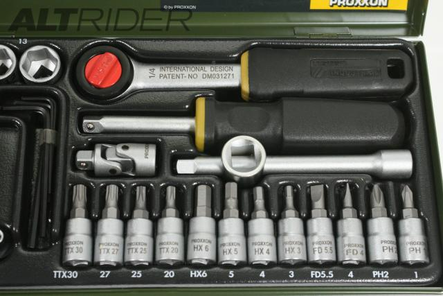 Proxxon 36-Piece Precision Engineer's Tool Set - Additional Photos