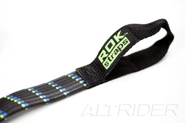 ROK Straps Motorcycle Adjustable Strap Twin Pack - 1 inch width - Additional Photos