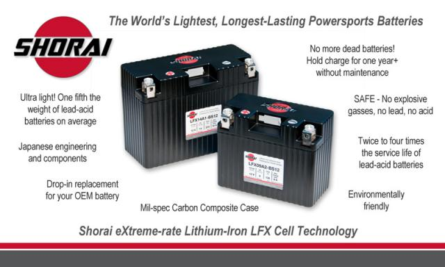 Shorai Ultra Light Motorcycle Battery - Additional Photos