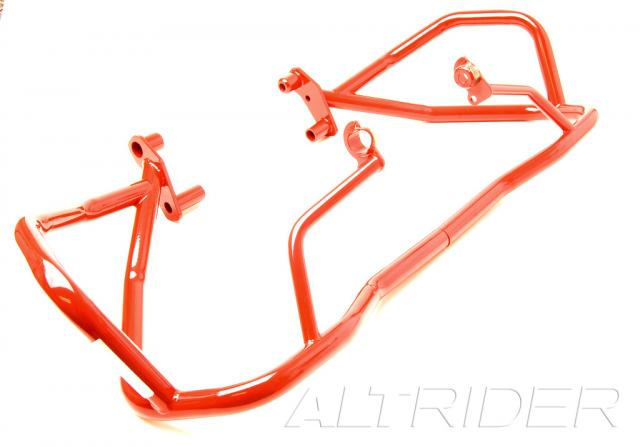 AltRider Crash Bars for the BMW R 1200 GS (2003-2012) - Red - Feature