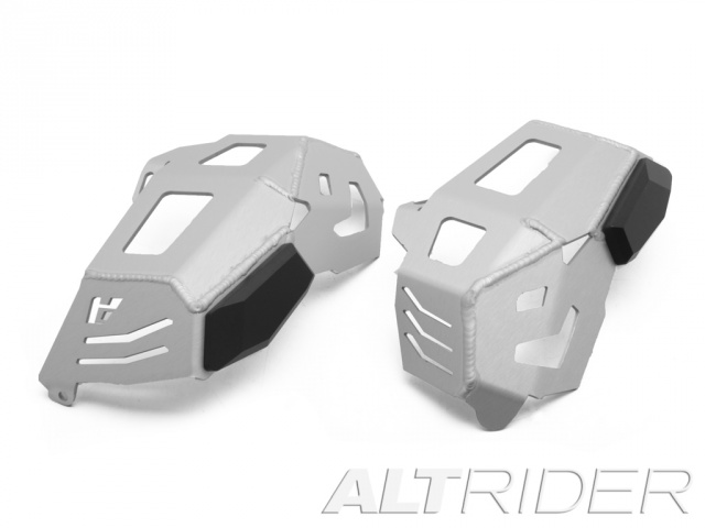AltRider Cylinder Head Guards for the BMW R 1200 Water Cooled - Silver - Feature