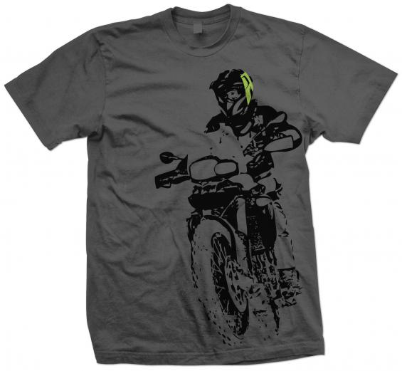 AltRider F 800 Throttle Up Men's T-Shirt - Small - Feature