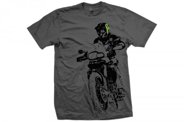 AltRider F 800 Throttle Up Men's T-Shirt - Feature