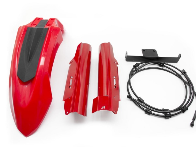 AltRider High Fender Kit for the Honda CRF1000L Africa Twin - Red - Feature