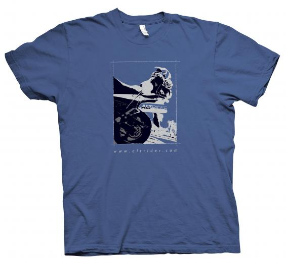 AltRider Loaded V-Strom Men's T-Shirt - Small - Feature
