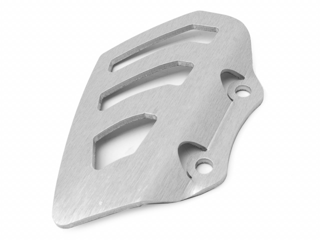 AltRider Rear Brake Master Cylinder Guard for the Husqvarna TR650 Terra and Strada - Silver - Feature