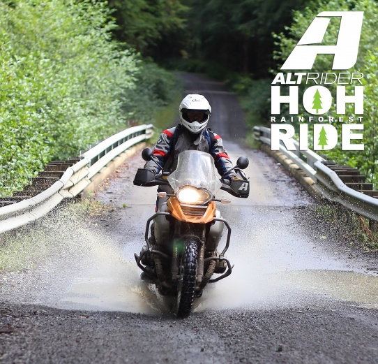 AltRider's Hoh Rainforest Ride 2015 - Feature