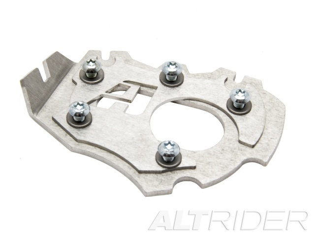 AltRider Side Stand Enlarger Foot for the BMW R 1200 GS Water Cooled (2013) - Silver - Feature