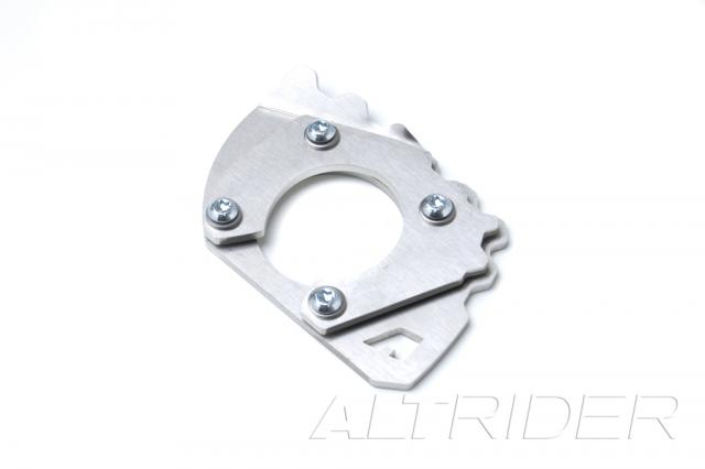 AltRider Side Stand Foot for 2010-2013 Yamaha Super Tenere XT1200Z - Silver - Feature