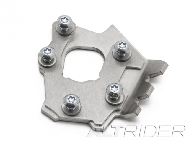 AltRider Side Stand Foot for Honda NC700X - Silver - Feature