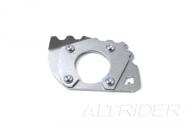 AltRider Side Stand Foot for KTM 950 ADV - Silver - Feature