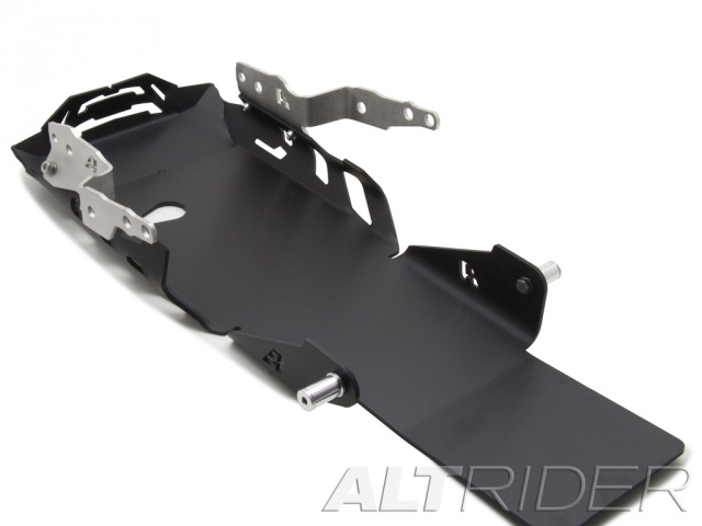 AltRider Skid Plate for the BMW R 1200 GS Water Cooled (2013-2015) - Black - With Mounting Bracket - Feature