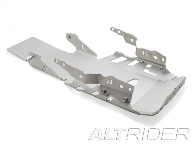 AltRider Skid Plate for the BMW R 1200 GS Water Cooled (2013-2015) - Silver - With Mounting Bracket - Feature