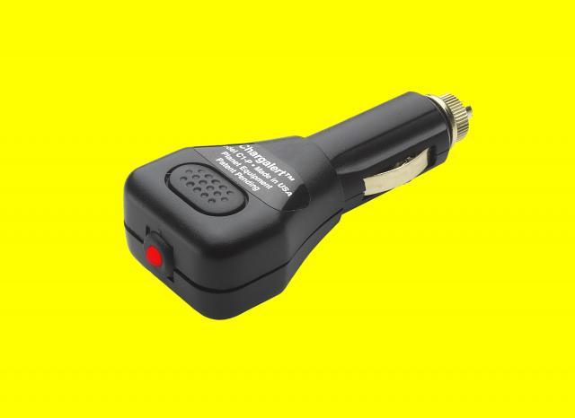 Led Battery Bank Monitor : Chargalert led battery monitor portable adaptor